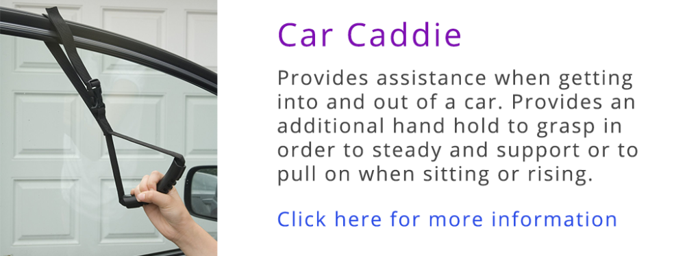 Car Caddie - Dare To Be Purple